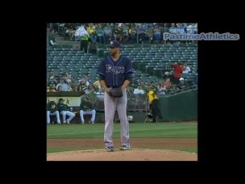 David Price Pitching Slow Motion - Tampa Bay Rays Baseball Cy Young MLB