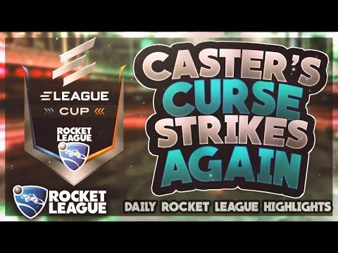 WTF Rocket League Plays: Caster's Curse Strikes Again thumbnail
