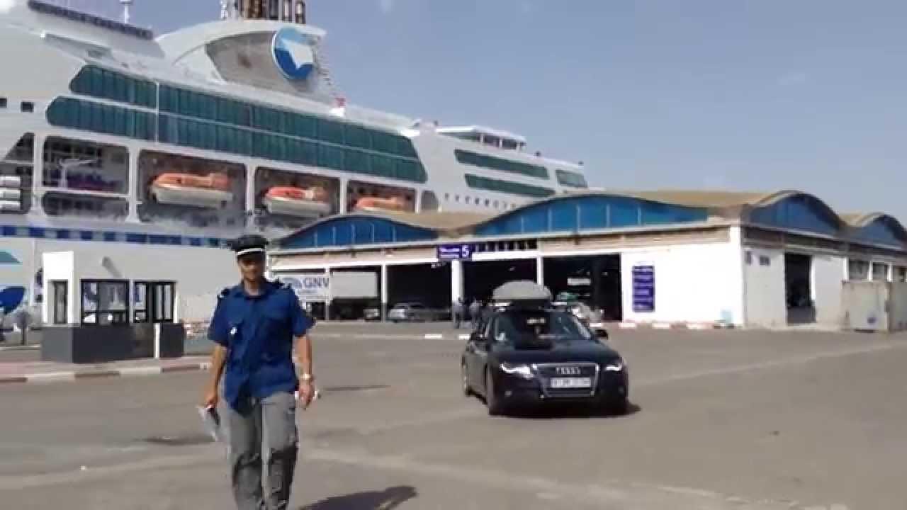 Port de la goulette embarquement sur le daniel casanova - Port de marseille pour aller en algerie ...