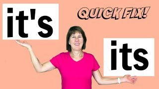 it's or its | What is the difference?  - English grammar lesson