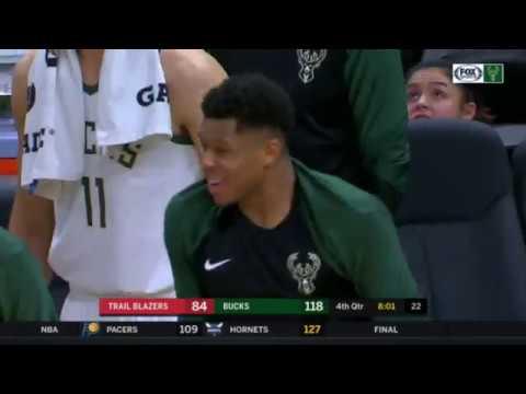 Bucks - Bucks top Blazers 143-100
