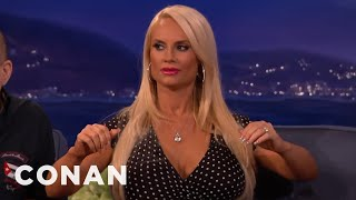 Coco Does The Boob Dance  - CONAN on TBS