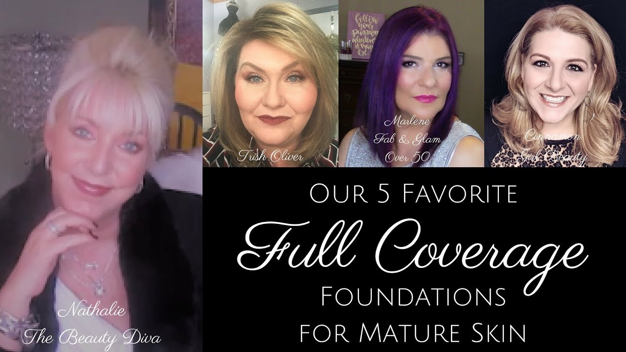 Best drugstore foundation for mature skin over 50