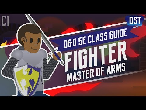 D&D 5e Fighter Class Guide ~ Direct the Pointy Bit at Monsters