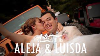 Arte Eventos - Matrimonio Aleja y Luisda