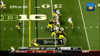 Notre Dame vs Michigan Highlights - Notre Dame Football