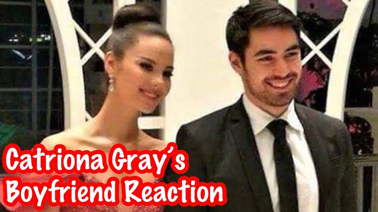 Catriona Gray S Boyfriend Clint Bondad Reaction To Her Winning Moment Miss Universe 2018