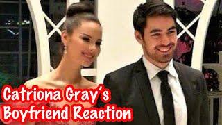 Catriona Gray's Boyfriend Clint Bondad Live Reaction to her Winning Moment!   Miss Universe 2018
