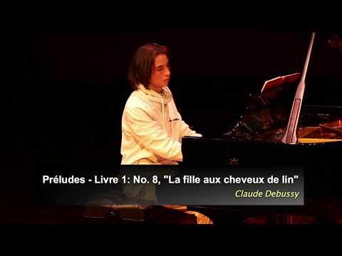 Claude Debussy La fille aux cheveux de lin The Girl with the Flaxen Hair