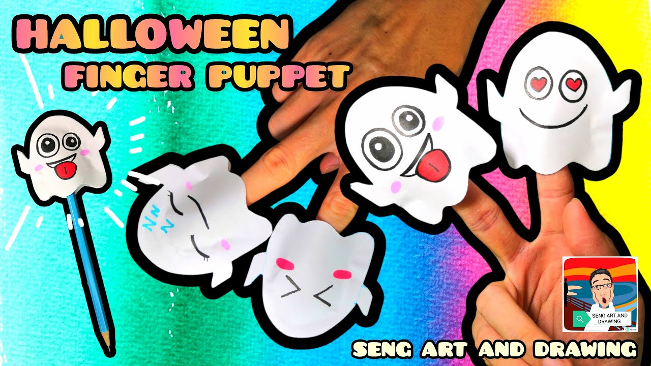 Halloween Finger Puppet  🎃 万圣节手指玩偶 🎃 BONEKA JARI HALLOWEEN