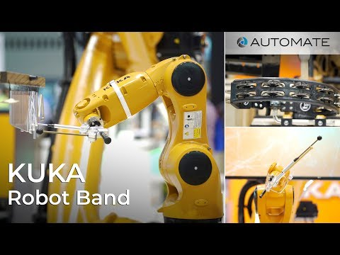 Kuka Robot Band at the Automate Show 2019 - House of Design