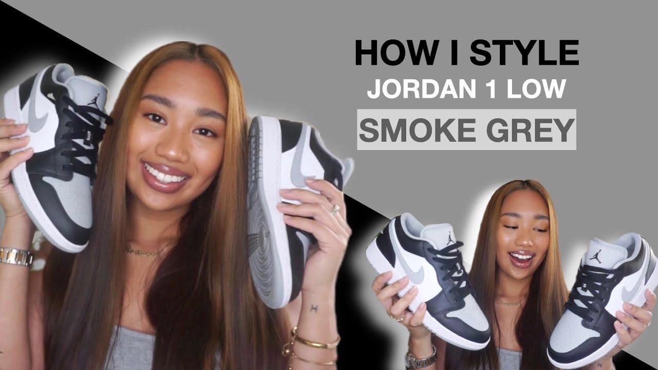 air jordan 1 low smoke