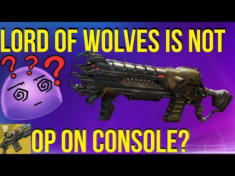 """""""Lord Of Wolves Is Not OP On Console"""""""