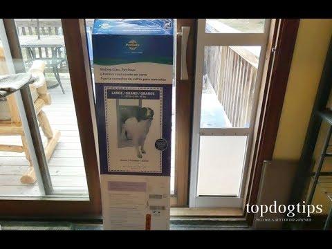 petsafe freedom sliding glass pet door review