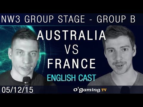 Australia vs France - NationWars III - Group Stage - Group B - Match 2 [EN]