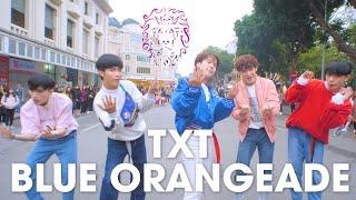 Gambar cover [KPOP IN PUBLIC] TXT (투모로우바이투게더) 'Blue Orangeade' |커버댄스 Dance Cover| By B-Wild From Vietnam