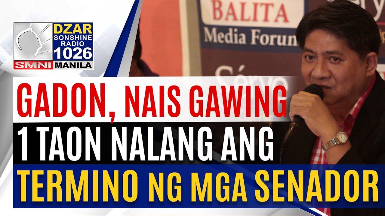 Download Atty. Gadon, nais gawin na isang termino nalamang ang mga senador kung papalarin sa 2022 election