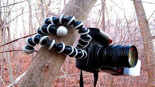 видео Где купить гибкий штатив для фотоаппарата