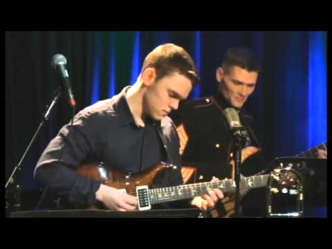 Michael Scalabrino sits in US Marine Jazz Band