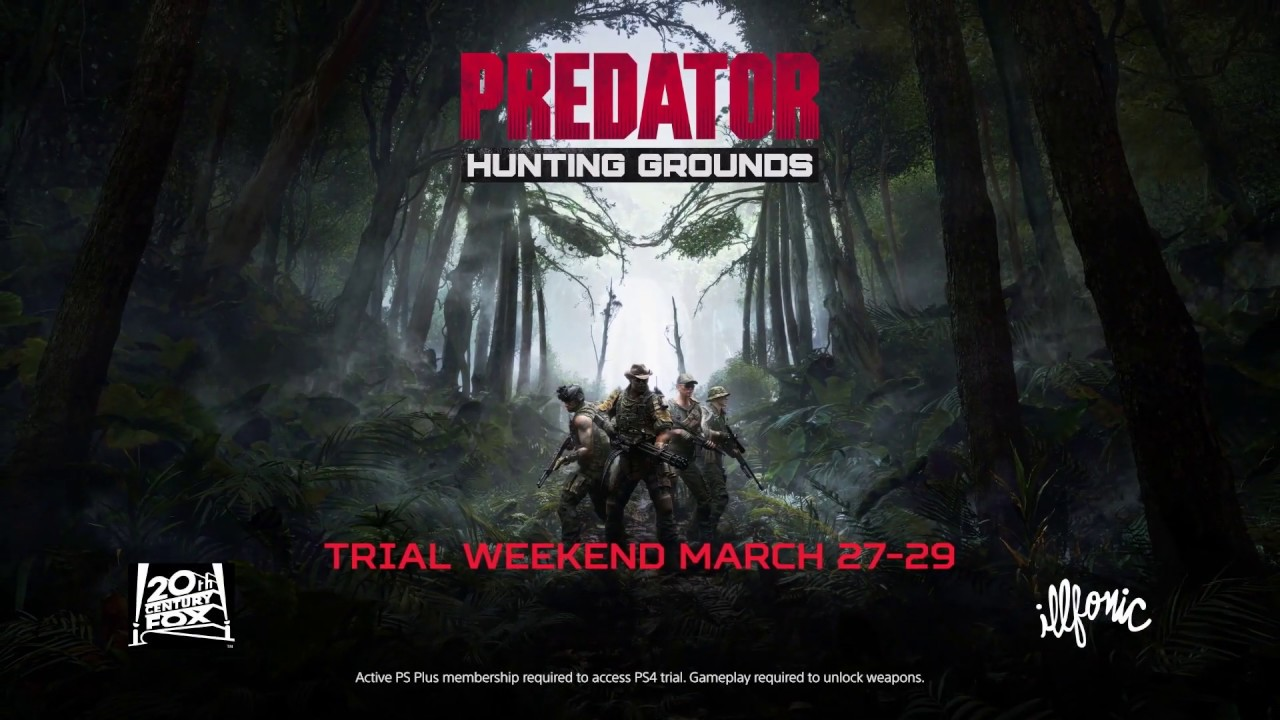 Predator: Hunting Grounds | Trail Weekend 27 March| PS4