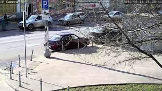 Видеозапись с уличной IP камеры Zodiak 935W (1280x720П, улица)