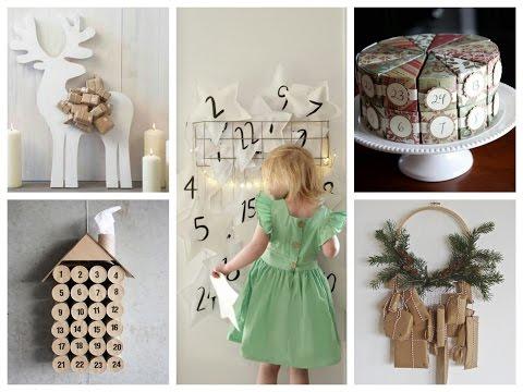 50+ DIY Christmas Advent Calendar Ideas