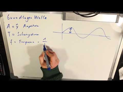 Grundbegriffe Welle Amplitude Schwingungsdauer Wellenlänge Frequenz Phasengeschwindigkeit