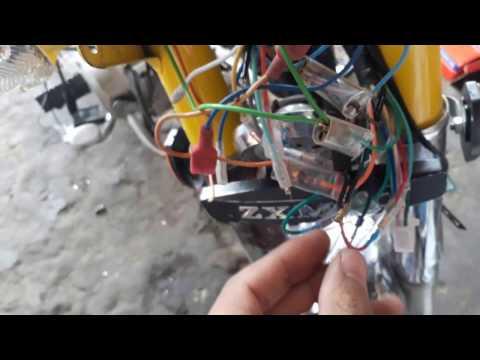 Complete wiring of cd 70 p2 urdu - YouTube on