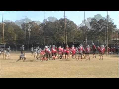2011 Colts Pee Wees vs Pelahatchie
