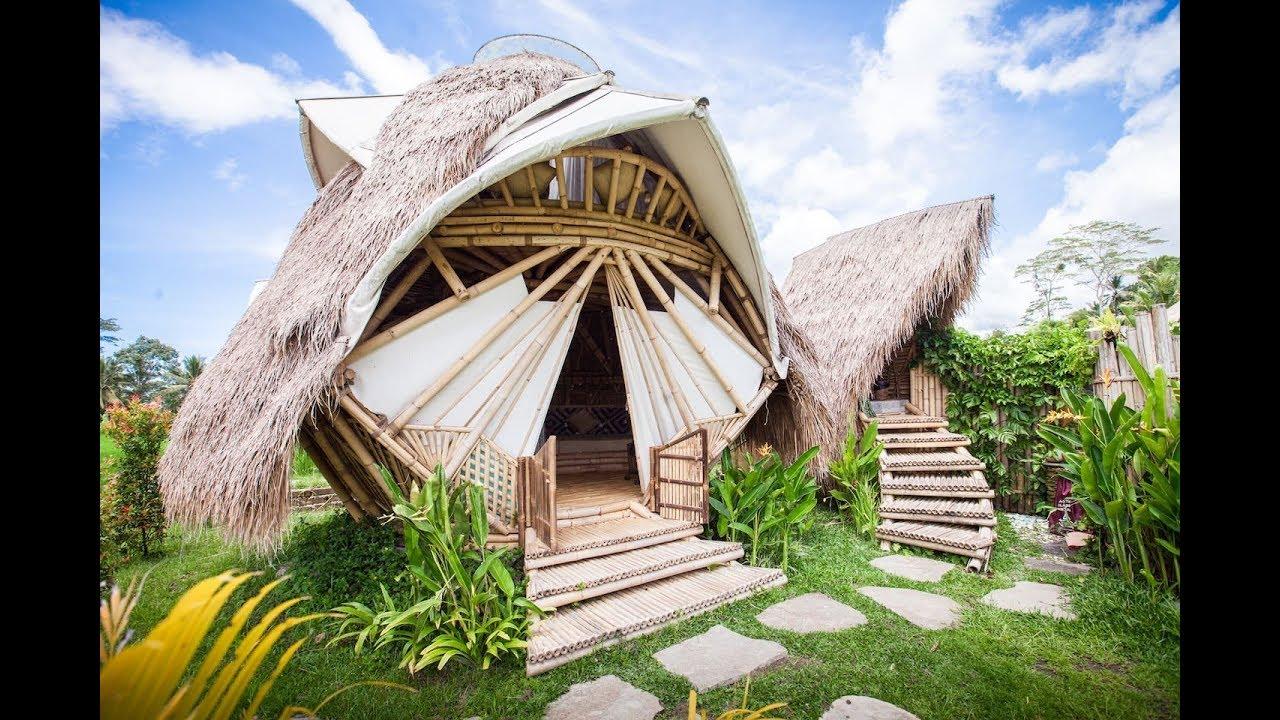 Newearth Haven Amethyst Crystal Dome In Ubud Bali Indonesia Youbnb 2018 Youtube