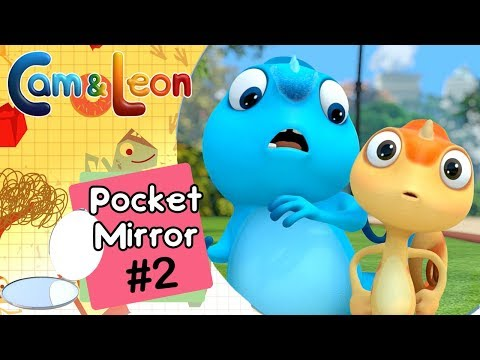 Hilarious Children Cartoon | Pocket Mirror #2 | Cam & Leon