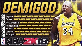 MOST DOMINANT CENTER BUILD | NOBODY Can Stop This Archetype EVERY YEAR - NBA 2K18 CHEESE DEMIGOD