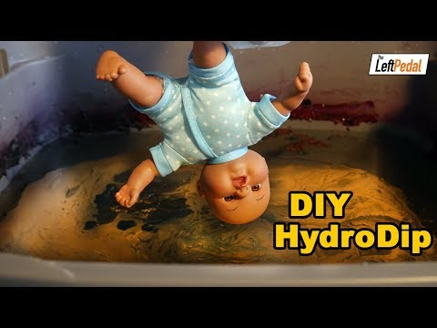 HydroDip Everything! | DIY Hydro Dipping