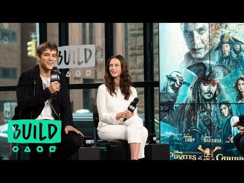 "Kaya Scodelario And Brenton Thwaites Discuss ""Pirates of the Caribbean"""