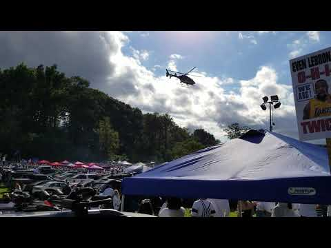 Rowdy Penn State Tailgate Broken Up By State Police Helicopter
