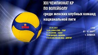 Улар vs Салам Алик 13 Чемпионат КР среди женских клубных команд национальной лиги