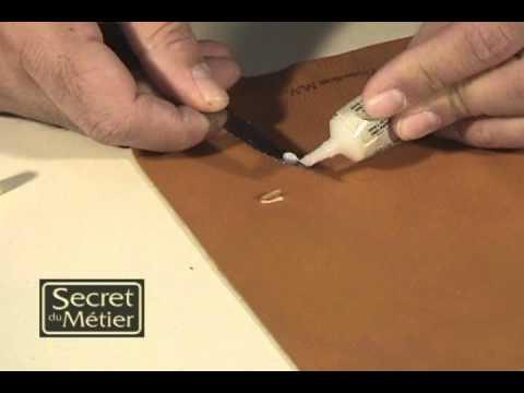réparation du cuir : les accrocs - youtube