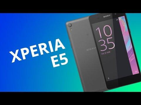 Xperia E5 [Análise]