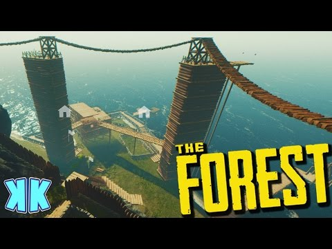 The Forest | BUILDING OUR NEW BASE? | Update 0.46 Gameplay | #39