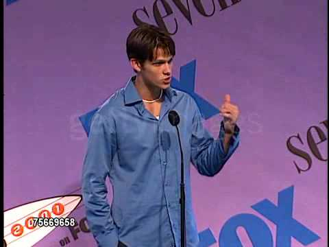 Jared Padalecki @ 2001 Teen Choice Awards, Interview