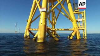 First offshore wind farm opens in the U.S