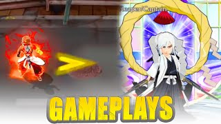 #SAFWY 1 GAMEPLAYS OF ALL 3 CHARACTERS YAMA SHUNSUI & JUSHIRO 🕹 Bleach Brave Souls