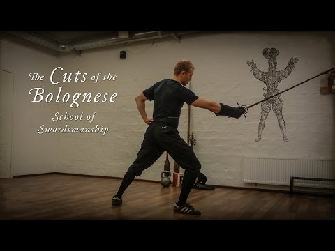 Basic cuts used in Bolognese swordsmanship