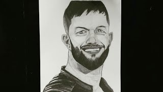 #finnbalor #wwe Drawing Finn Balor sketch/ WWE Superstar/ WWE raw