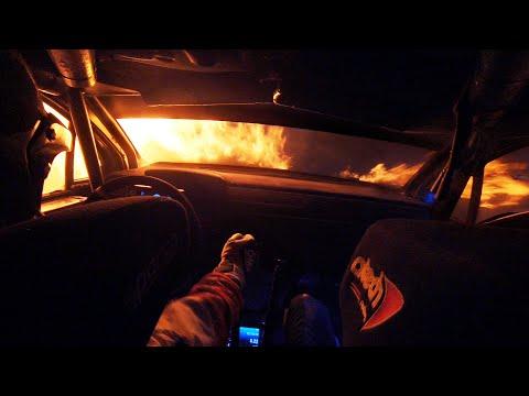 Car Erupts In Flames - WRC Rally Turkey 2020