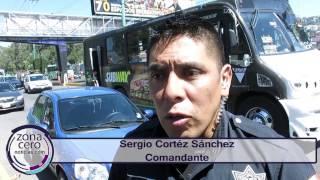 Combaten los asaltos de pasajeros en Atizapán