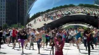 Bollywood Groove Chicago Flash Mob Millennium Park