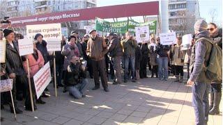Митинг против точечной застройки в Москве(27 марта прошел митинг против точечной застройки на юго-западе Москвы. Участники выступали за соблюдение..., 2016-03-27T18:59:30.000Z)