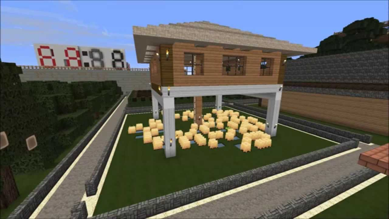 Minecraft bauideen und bilder von unserem server 2 youtube for Bauideen minecraft