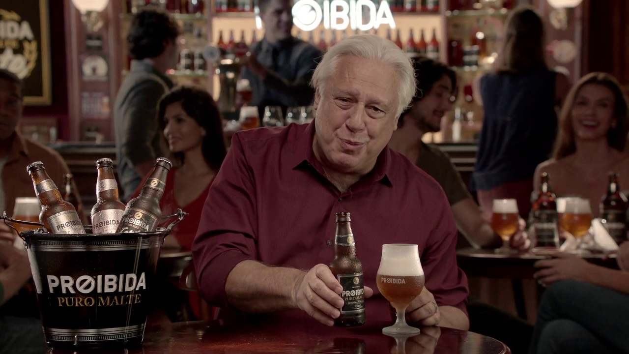 Resultado de imagem para Campanha: Cerveja Proibida – Família Proibida Puro Malte